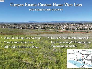 207 Canyon Estates Cir Lot15, American Canyon, CA