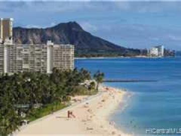 Waikiki Shore condo #404. Photo 2 of 8